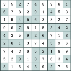 picture relating to Eugene Sheffer Crossword Puzzle Printable known as LA Occasions Day by day Sudoku August 14 2019 Solutions